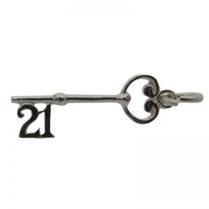 '21' Key Charm-0
