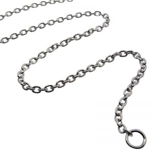Sterling Silver Medium Belcher Chain -0