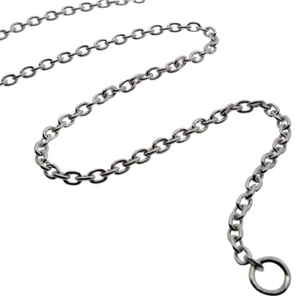 Sterling Silver Medium Belcher Chain -0