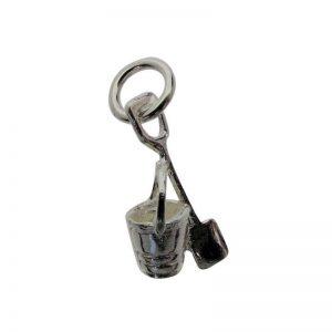Bucket and Spade Charm-0