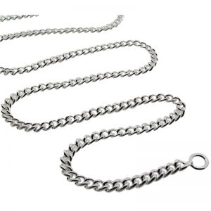Medium Rounded Curb Chain-0