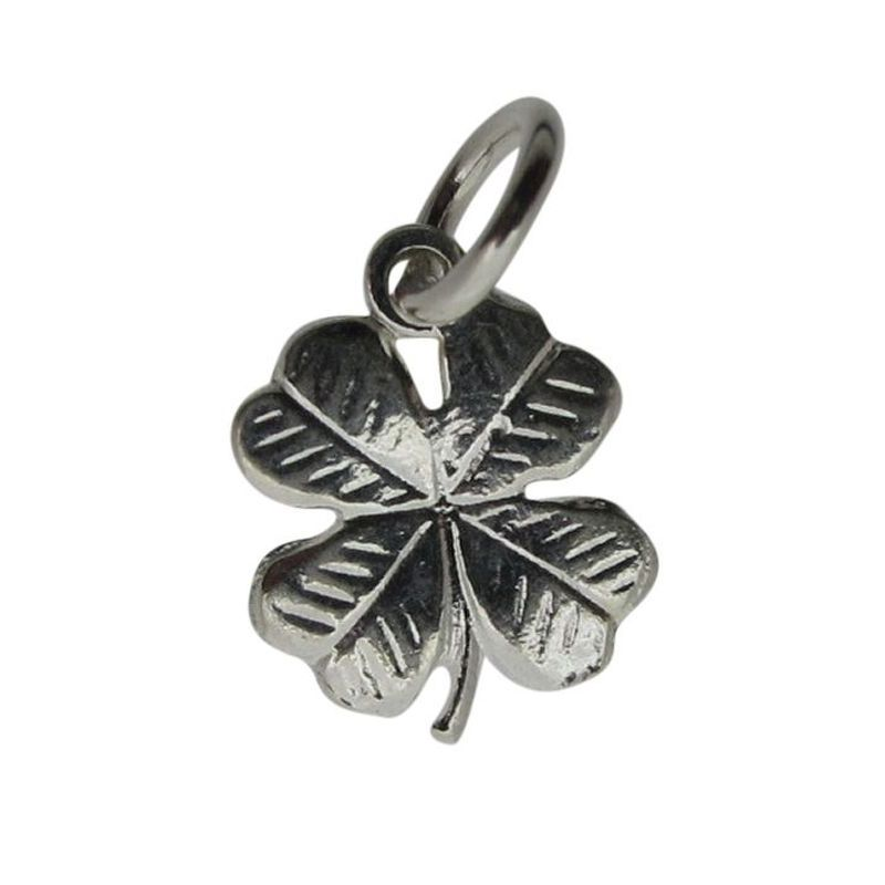 Four leaf clover charm the silver shop of bath four leaf clover charm 0 mozeypictures Image collections