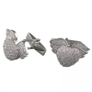 Winged-Heart Cufflinks-0