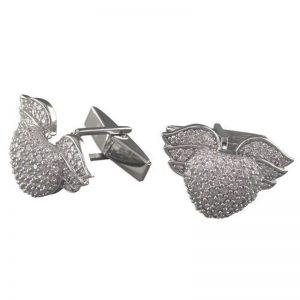 Winged-Heart Cufflinks-0