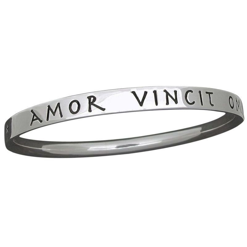 'Amor Vincit Omnia' Bangle-0