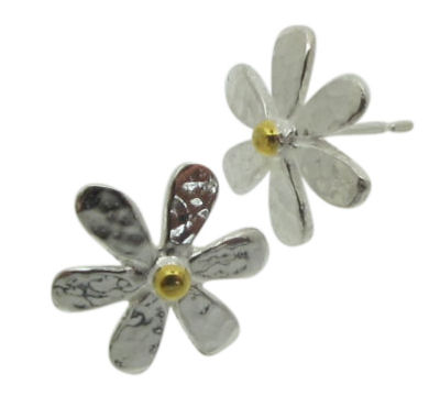 Medium Daisy Studs-0