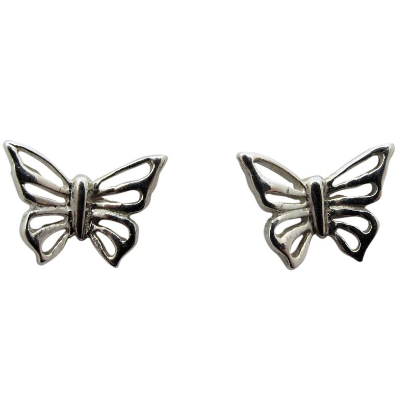 Butterfly Stud Earrings-218