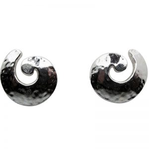 Medium Spiral Stud Earrings-263