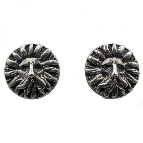 'Gorgon' Stud Earrings-95