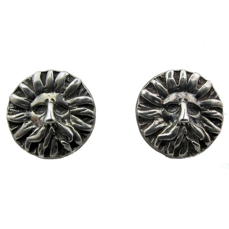 'Gorgon' Stud Earrings-95