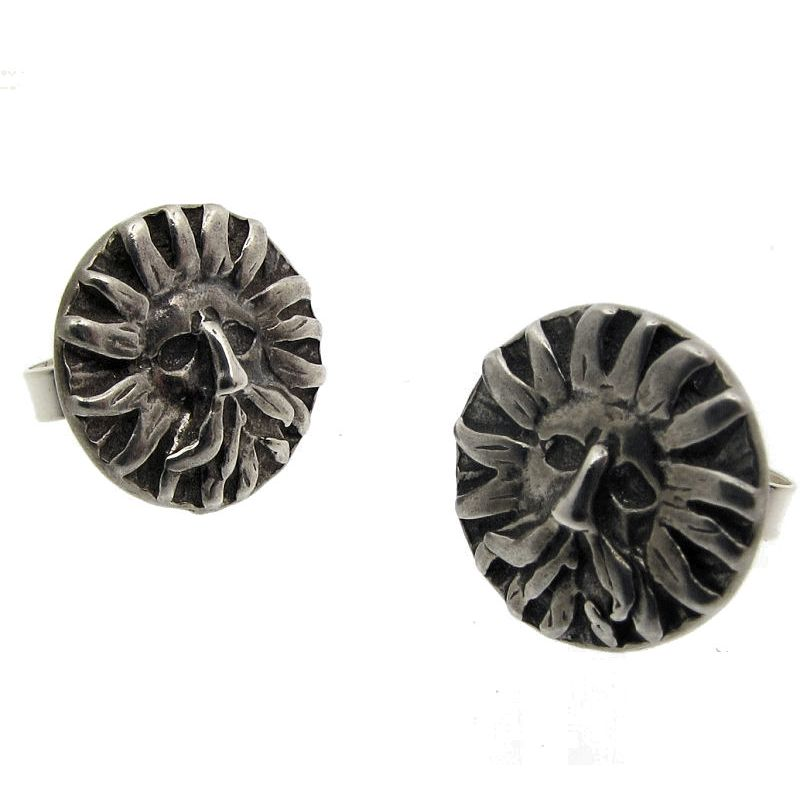 'Gorgon' Stud Earrings-0