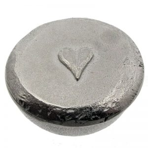 Pewter Heart Trinket Box-90