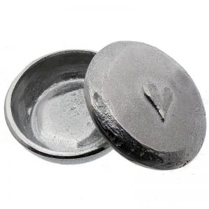 Pewter Heart Trinket Box-0