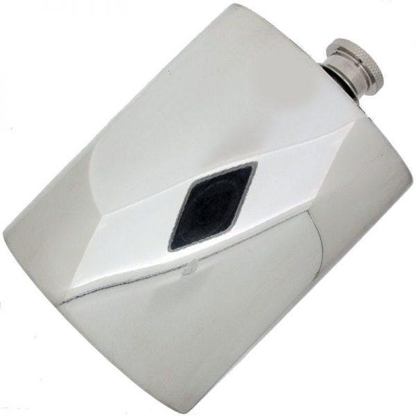 Large Pewter Hipflask-99