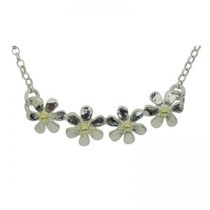 Daisy Quartet Necklace-0
