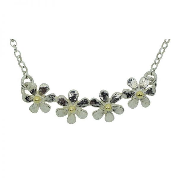 Daisy Quartet Necklace-0