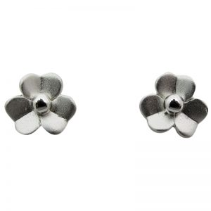 Flower Stud Earrings-273