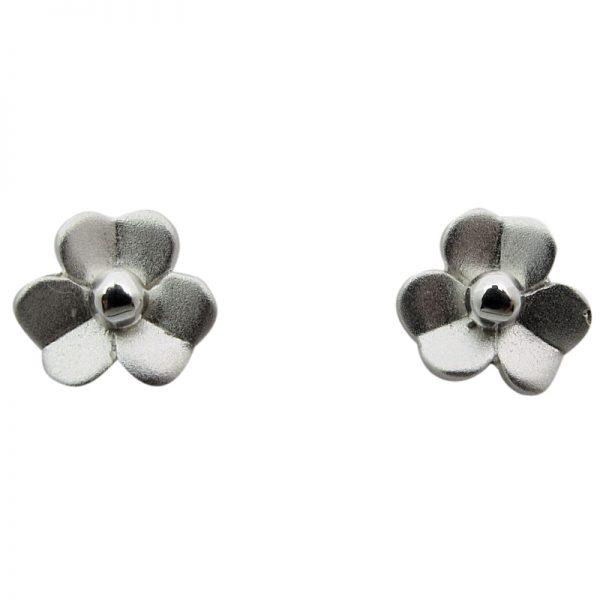 Flower Stud Earrings-273