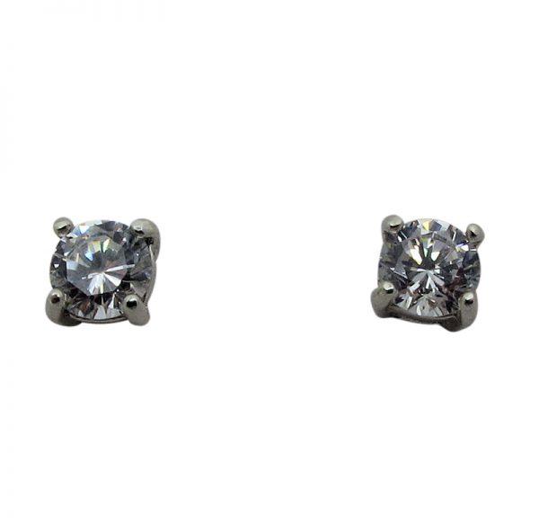 Cubic Zircona Stud Earring-271