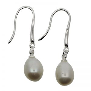 Pearl Drop Earrings-0