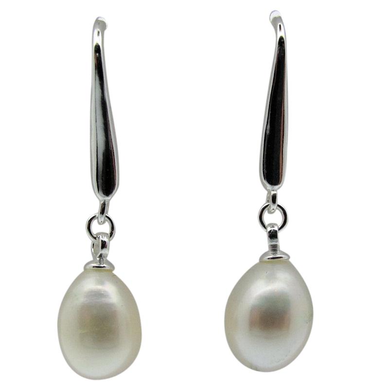 Pearl Drop Earrings-265