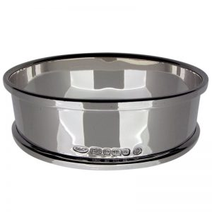 Sterling Silver Oval Napkin Ring-0