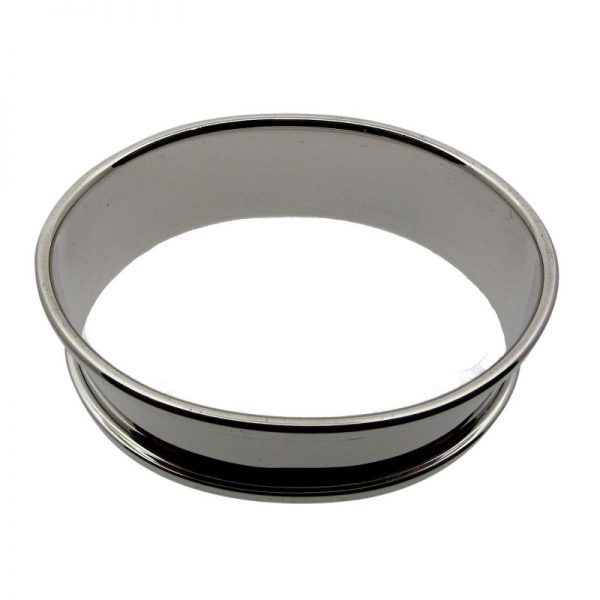 Sterling Silver Oval Napkin Ring-300
