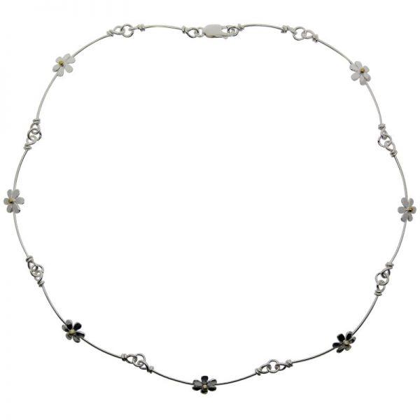 Daisy Choker Necklace-0
