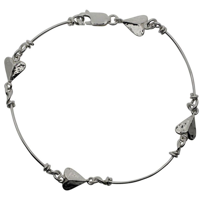Pre-Raphaelite Heart Bracelet-0