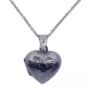 Heart Locket and Chain-0