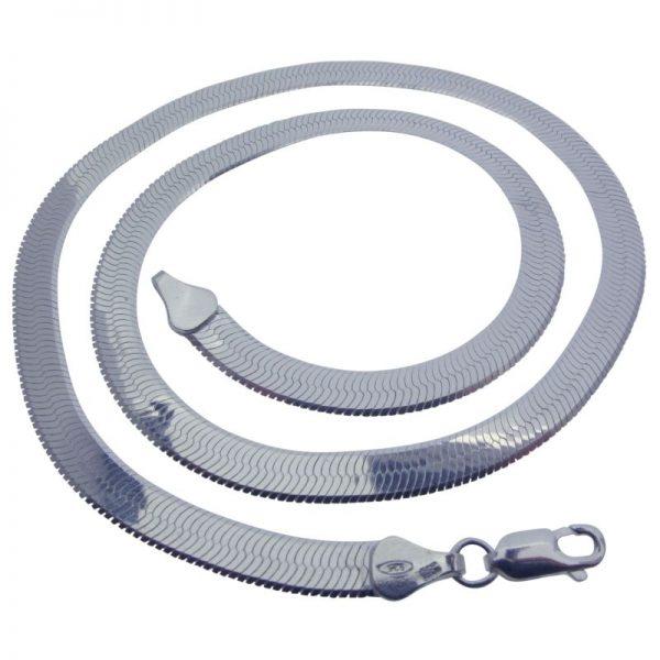 Herringbone Necklace-0