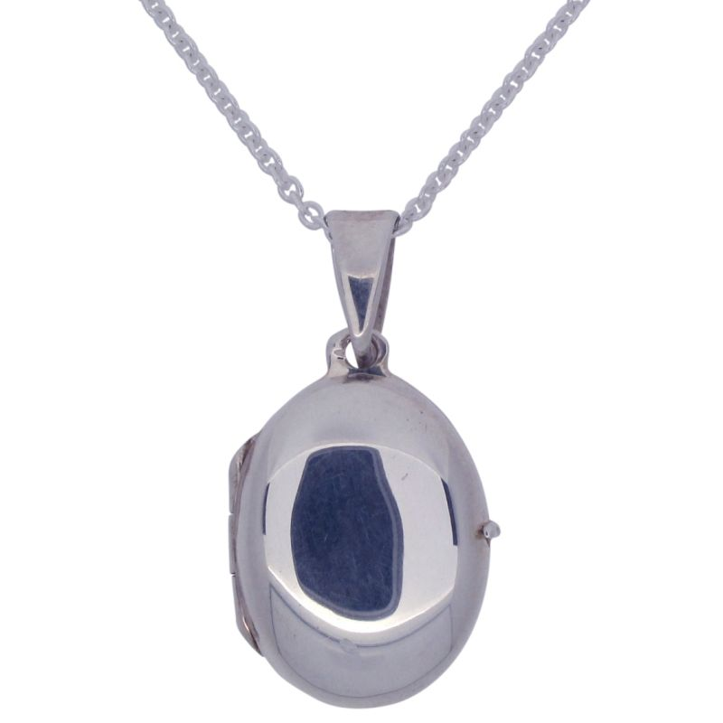 Oval Locket and Chain-0