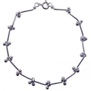 Silver 'Jacks' Bracelet-0