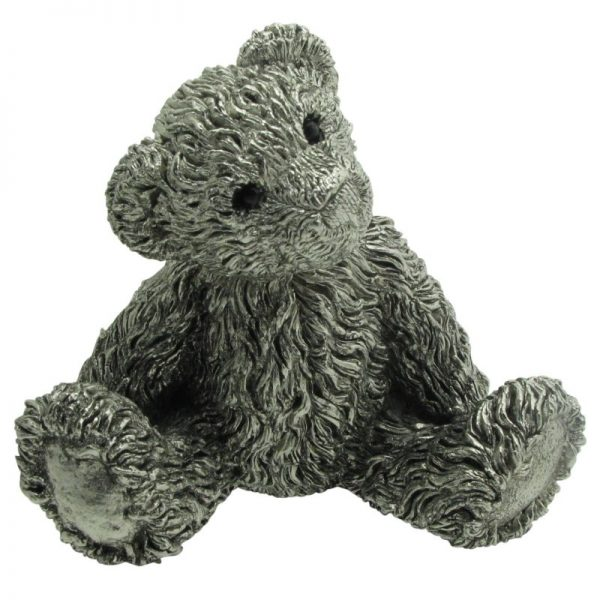 Pewter Teddy Figurine-0