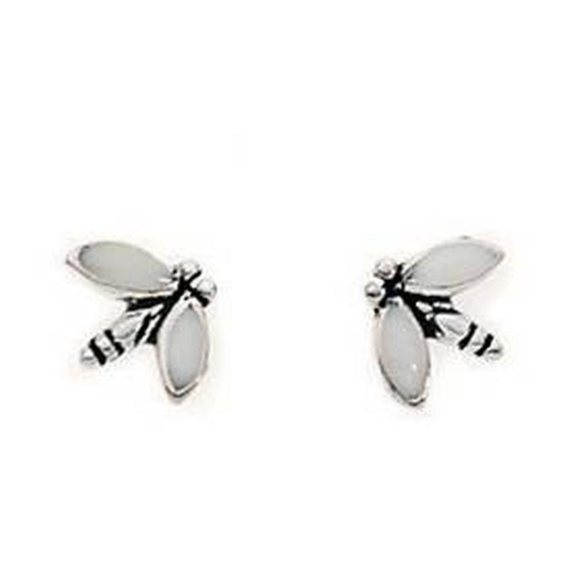 Dragonfly Stud Earrings-0