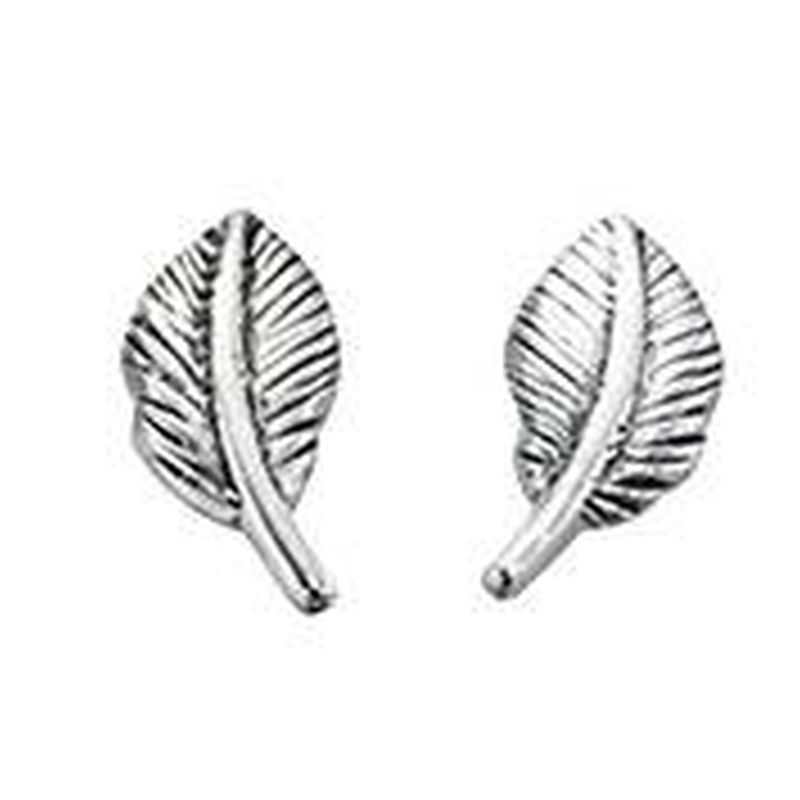 Leaf Stud earrings-0