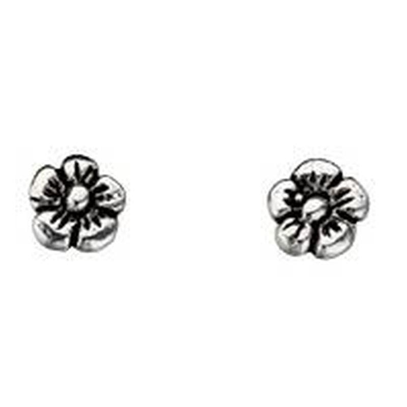 Flower Stud Earrings-0