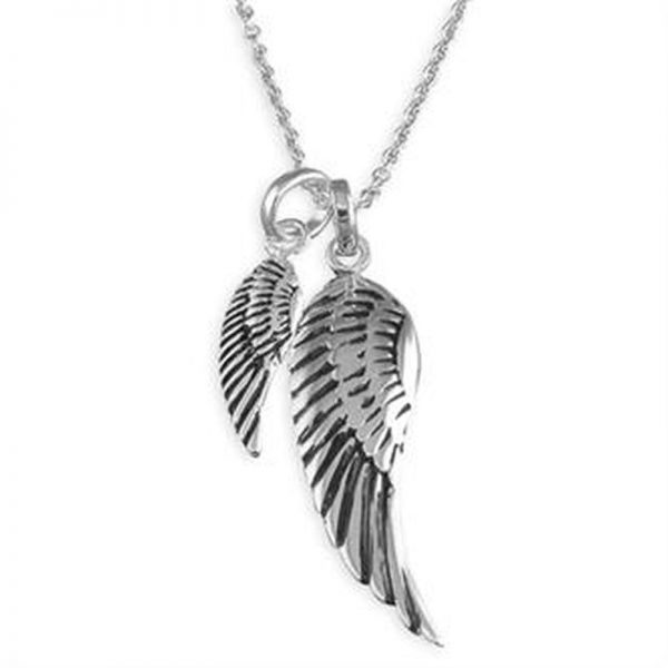 Angel Wings Necklace-0
