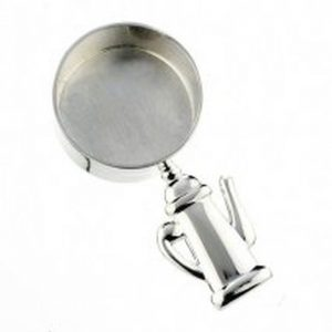 Silver Plated Coffee Scoop-0