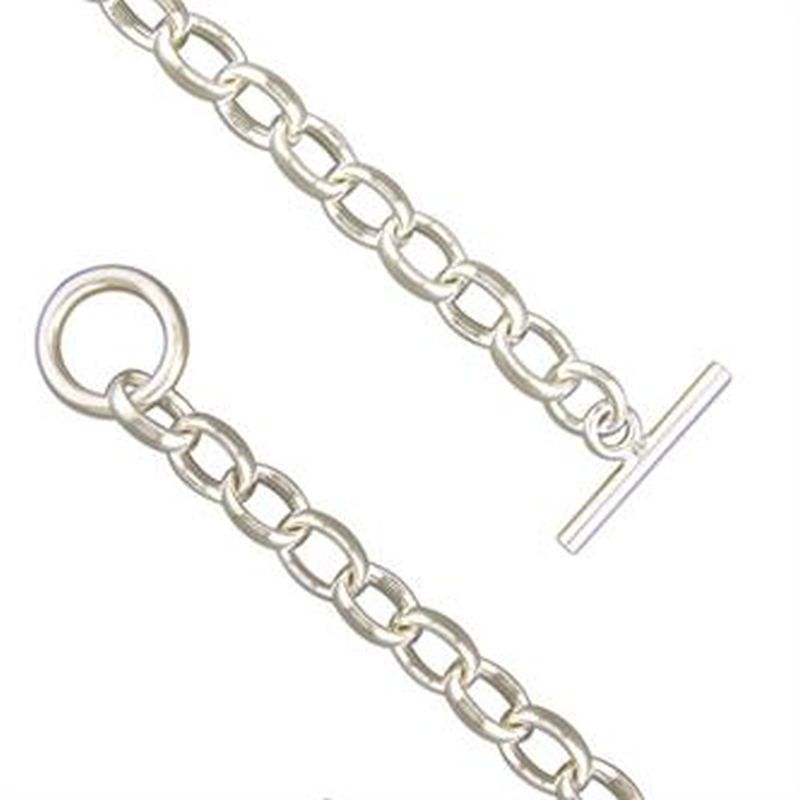 Chunky T-Bar Bracelet-0