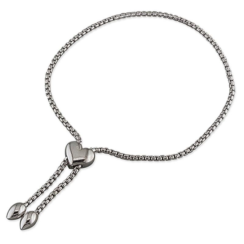 Heart Slider Bracelet-0