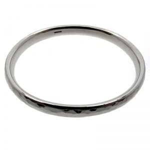 Light Hammered Bangle-0