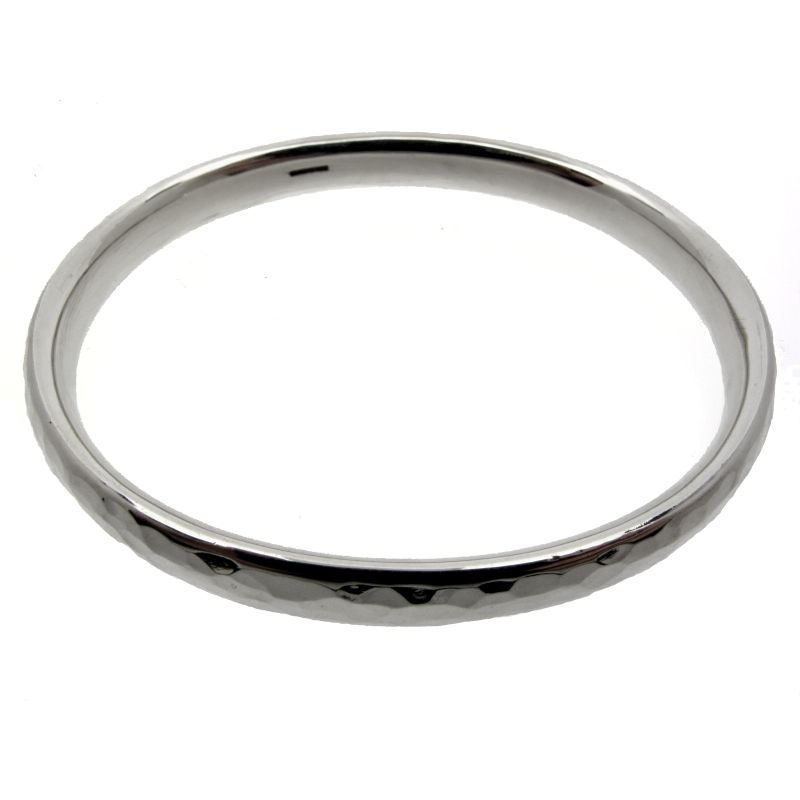 Heavy Hammered Bangle-0